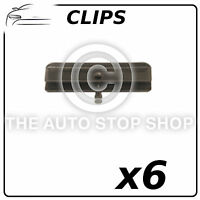 Windscreen Windshield Moulding Clips Lancia Lybra/Alfa Romeo 147 etc 6PK 10876
