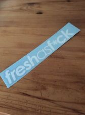 Funny Fresh As F**k Vinyl Decal Sticker For Car Or Van. JDM, Euro, Dub, Slammed