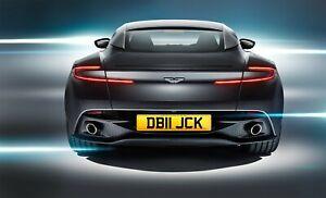 DB11, JCK, JACK,  ASTON, AML, AM, Personal Reg, Cherished Number, Private Plate