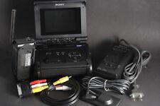 Sony Video Walkman gv-s50e PAL pour vidéo 8+hi8 CASS. incl. Equipment; d'occasion