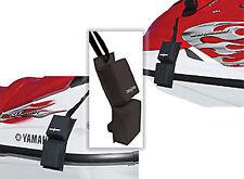 Jet Ski Hull Hugger Pair Gunwale PWC Protector Bumper Fender Set NEW Black QTY2