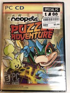 CAPCOM Neopets Puzzle Adventure PC Video Game 2008 Brand New