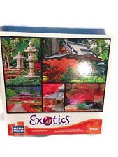 NEW Exotics Puzzle, Japanese Gardens 1000 Pieces   #500