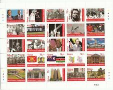 2013 Kenya Independence Anniversary  Miniature Sheet of 25 x 75- stamps  History