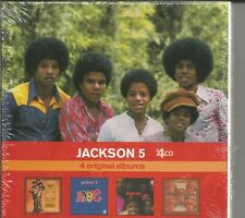 JACKSON 5 - 4 Original Albums - BRAND NEW - 4 CD
