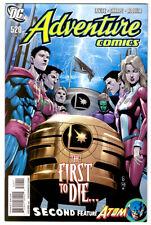 ADVENTURE COMICS #520 in VF/NM condition a 2010  DC comic LEGION OF SUPER-HEROES