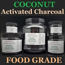 Activated Charcoal Powder Teeth Whitening Organic 100% Natural FoodGrade COCONUT