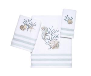 Avanti Home Coastal Terrazzo Towels Bathroom Rug