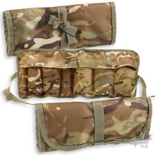 Military MTP/MULTICAM Nettoyage Kit utilitaire Rouleau outil Armée Camouflage