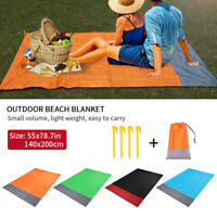 Picnic Mat Waterproof Rug Blanket Folding Outdoor Camping Beach Festival Travel