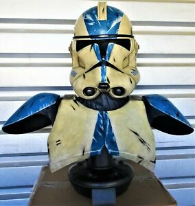 STAR WARS SIDESHOW 501st CLONE TROOPER LIFE-SIZE BUST STATUE FIGURE
