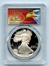 1986 S $1 Proof American Silver Eagle 1oz PCGS PR69DCAM Thomas Cleveland Eagle