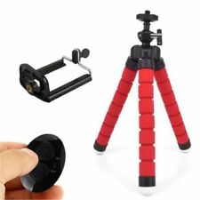 Flexible Sponge Octopus Mini Tripod With Bluetooth Remote Shutter For iPhone min
