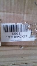 15HB FIRE EXTINGUISHER BRACKETS. 4 brackets, new in box