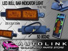 REVOLUTION FRONT INDICATOR LIGHT LAMP LED 10 TO 30V SUIT BULL BAR 52-90342 x1