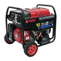 A-IPOWER 6000Watts Electric Start Dual Fuel Powered Inverter Generator
