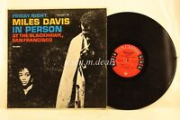 "Miles Davis in Person Friday Night At The Blackhawk, Vol. 1 , Record 12"" VG"