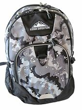 Sierra Expedition Pasco Grey Camo Laptop Backpack