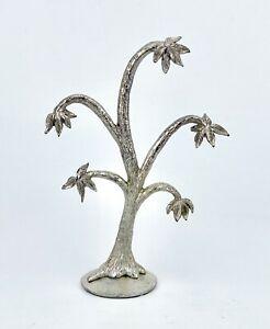 "1960's - MIRELLA SILVER PLATED JEWELLERY RING TREE - 5.75"" x 4"" x 1.75"" - 137g"
