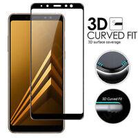 Für Samsung Galaxy A6/A8/A8 / A9 2018 Full Cover Tempered Glass Screen Protector