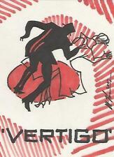 "Classic Vintage Movie Posters - Scott Houseman ""Vertigo"" Sketch Card"