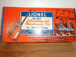 LIONEL # 997 LUBRICATING AND MAINTENANCE KIT
