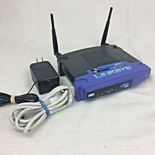 LINKSYS Cisco 4-Port Switch Wireless-G Broadband Router 2.4 Ghz BEFW11S4 v.4