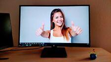 "27"" HP 27WM LED IPS LCD Monitor HDMI DVI VGA 1080p Widescreen Ultra Slim"
