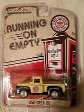 1956 FORD F-100 Running on Empty Collectible Greenlight 1:64☆