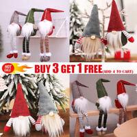 2020 Christmas Faceless Gnome Santa Xmas Tree Hanging Ornament Doll Decor A