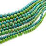 """16"""" Natural Howlite Turquoise Gemstone Round Loose Beads 6MM 8MM 10MM 12MM 14MM"""