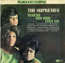 """""""THE SUPREMES"""" Where did our love go / LP 33tours US (MOTOWN 621 Stereo) NM"""
