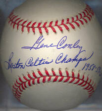 Gene Conley 1957 Milwaukee Braves Autographed Signed ONL Baseball COA DECEASED