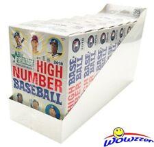 2018 Topps Heritage High Number Baseball HANGER CASE-8 Factory Sealed Box! HOT!