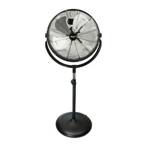 "Comfort Zone CZHVP20S 20"" High-Velocity Industrial 3-Speed Fan"