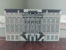 Cat's Meow White House Wood Washington D.C. Series 1991 Pencil Signed Faline Vtg