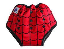 Spiderweb Bamboo Toilet Training Pants - Waterproof Adjustable Size + Pocket