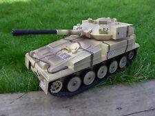 Vintage 2008 HM Armed Forces Large Fast Pursuit Battle Tank Military Vehicle Toy