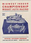 #MISC-0998 -  DEC 8 1940 CHICAGO MIDGET CAR RACING PROGRAM - CHAMPIOINSHIP