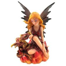 NEW COMPANIONS OF THE EMBERS 9.8CM FAIRY DRAGON NEMESIS NOW FIGUREINE RESIN