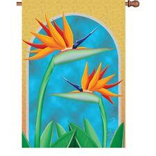 Paradise Yoga Flower Brilliance House Flag Pr 52737