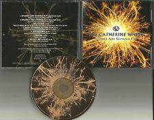 Rob Dickinson CATHERINE WHEEL Career Sampler 7TRX w/ EDITS PROMO DJ CD single