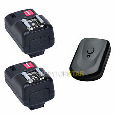 PT16 Wireless Flash SpeedLite Trigger 2 Receivers for Nikon Canon EOS Pentax