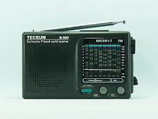 TECSUN R-909 AM/FM/SW1-7 9 Bands World Band Receiver Portable Radio