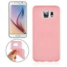 TAPA TRASERA ROJO CLARO Funda Estuche 0,3mm para Samsung Galaxy S6 G920 G920F