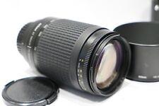 Nikon Nikkor AF-Lente 70-300mm f/4-5.6 G & HB-26 H 'D, si adatta a fotocamera DSLR