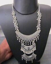 Long Necklace Boho Gypsy Hippie Vintage Goth Punk Style Statement Fashion Jewery