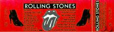 ROLLING STONES 1981 Tour Unused Concert Ticket Orlando
