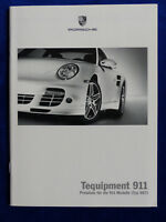 Porsche Tequipment 911 997 Carrera Turbo GT2 GT3 - Preisliste - Prospekt 05.2007
