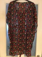 Ladies Clothes Size 8-10 Sainsbury's Tu Beach Dress Coverup Sheer Vgc (7)